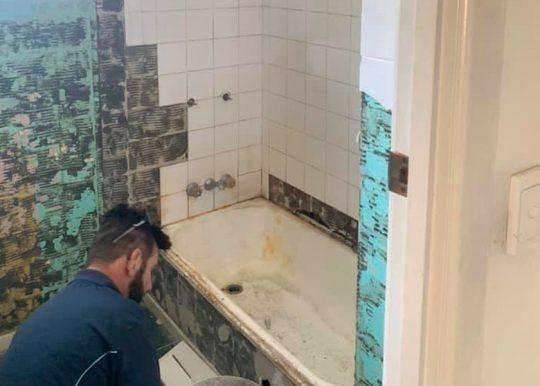 brisbane demolition stripping specialist 7 to 7 bathrooms portfolio 1